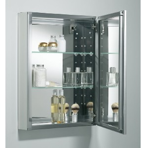 KOHLER K-CB-CLW2026SS - Best Mirror for Bathroom: Easily Adjust to Accommodate Your Toiletries