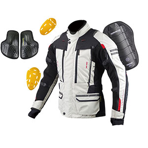 Komine JK-574  - Best Raincoat for Motorcycle Riders: Removable Insulated Liner