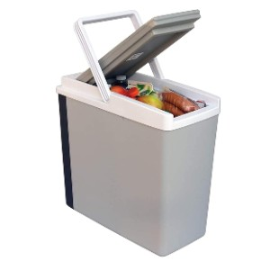Koolatron Slim Compact P20 Thermoelectric Iceless  - Best Electric Car Coolers: Compact Design Cooler