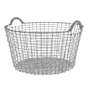 Korbo Wire basket Classic 35 - Best Storage Baskets: Basket for Several Uses Outdoor and Indoor