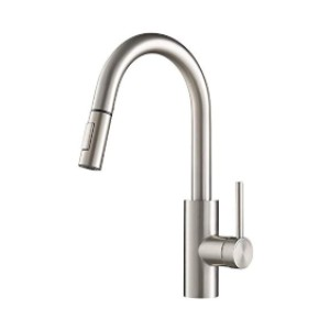 KRAUS Oletto KPF-2620SFS - Best Faucets for Kitchen: Reach Pull-Down Technology