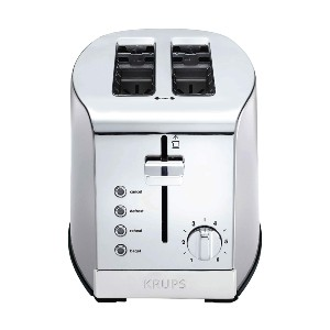Krups Stainless Steel Toaster - Best Toaster Two Slices: Toaster with High Lift Lever