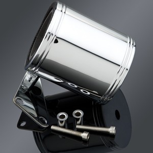 Kruzer Kaddy Chrome Beverage Holder with Switch Adapter - Best Motorcycle Drink Holders: Unique Accessory for Your Motorcycle