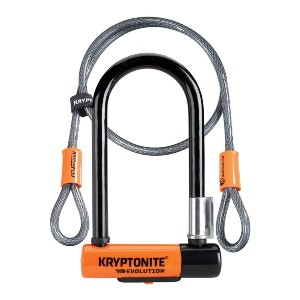 Kryptonite Evolution  - Best Lock for Bikes: Resists Hand Tools and Bolt Cutters