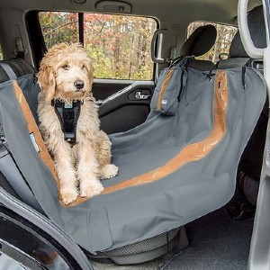 Kurgo Wander Hammock Car Seat Cover - Best Dog Car Seat Covers: Six Attachment Points