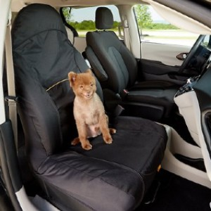 Kurgo CoPilot Seat Cover - Best Dog Car Front Seat Covers: Seat Cover with Under-Seat Strap