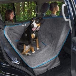 Kurgo Half Hammock Seat Protector - Best Dog Car Back Seat Covers: Versatile Back Seat Cover