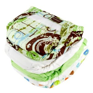 Kushies Ultra Lite All in One Diapers - Best Cloth Diaper for Newborn: Super lightweight