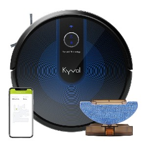 Kyvol Cybovac E31 Robot Vacuum - Best Robot Vacuum Cleaner for Pet Hair: Enhanced Gyroptic Smart Navigation