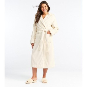 L.L.Bean Women's Wicked Plush Robe - Best Robes for Hot Tub: Simple Robe