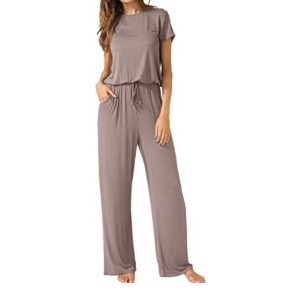LAINAB Women's Loose Wide Legs Casual Jumpsuits - Best Casual Jumpsuit: Ideal for all seasons