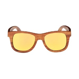 LANI SHADES LANI NUI KINO WOOD  - Best Sunglasses for Women: Stainless Steel Spring Hinges