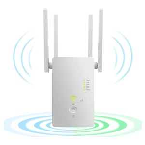 LAOSGE  WiFi Extender Wireless Signal Booster - Best Wi-Fi Repeater: Three Application Mode and High Compatibility