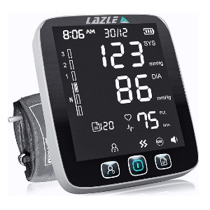 LAZLE Blood Pressure Monitor  - Best Blood Pressure Monitors for Small Arms: Store up to 200 readings