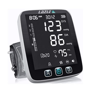 LAZLE Blood Pressure Monitor - Best Blood Pressure Monitors to Buy: Store up to 200 readings