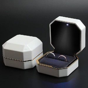 Joy.Box LED Jewelry Gift Box - Best Engagement Ring Box with Light: Deluxe ring box