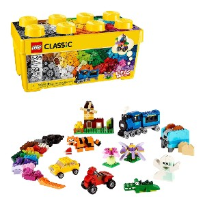 LEGO Classic Medium Creative Brick Box 10696 - Best Educational Toys for 5 Year Olds: Best for budget