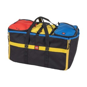 LEGO Storage 4 -Piece Tote and Play Mat  - Best Storage Container for Legos: Tote or playmat? Both!