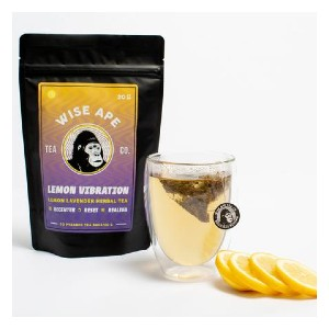 Wise Ape Lemon Vibration  - Best Tea for Headaches: Harmonizing Your Spirit with Mind and Body