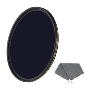 LENSKINS ND 1000 Filter - Best ND Filters for Portrait Photography: Eliminates Overly Bright and Washed-Out Images