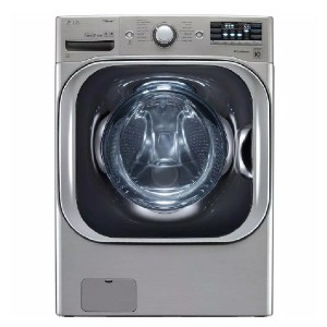 LG High Efficiency Mega Capacity Front Load Washer - Best Washers for Large Families: Cutting your wash time