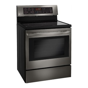 LG 6.3 Cu. Ft. Self-Cleaning Electric Convection Range - Best Electric Ranges Under 1000: Best for large meals
