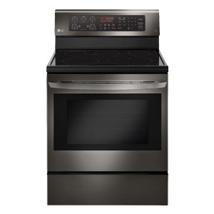 LG 6.3 Cu. Ft. Self-Cleaning Electric Convection Range - Best Ranges for Kitchen: Best for large meals