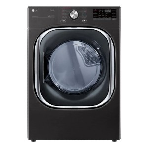 LG 7.4 cu. ft. Ultra Large Capacity Electric Dryer - Best Dryers for Large Families: Control it with your voice
