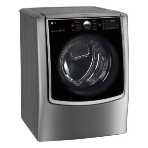 LG 9.0 Cu. Ft. 14-Cycle Smart Wi-Fi Electric SteamDryer - Best Dryers for Large Families: Best premium pick