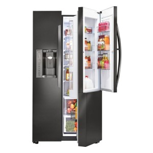 LG Door-in-Door 26.0 Cu. Ft. Side-by-Side Refrigerator - Best Refrigerator with Ice Maker: Easy access to foods and beverages