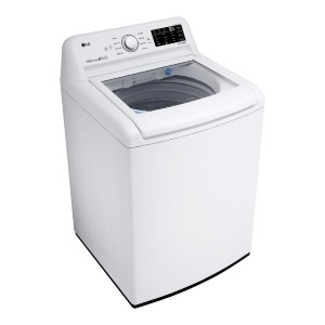 LG WT7100CW Washer White - Best Washers Without Agitators: Gentler clean