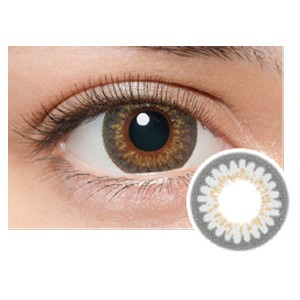 LILMOON Monthly Milky Gray - Best Contact Lenses for Dark Eyes: Colored Monthly Contact Lenses