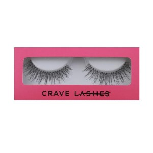 Crave Lashes LIMONCELLO FALSE LASH - Best Lashes for Asian Eyes: The Band is Very Flexible
