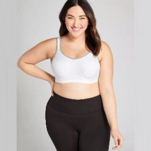 Cacique LIVI Active High-Impact Wicking Underwire Sport Bra - Best Activewear Plus Size: Keeps you bounce-free
