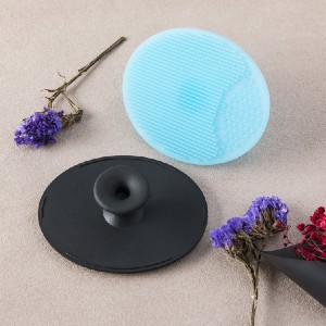 LLDZ Silicone Facial Cleansing Pads - Best Silicone Face Cleansing Brush: Manual Soft Silicone Cleansing Brush