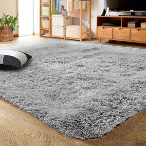 Lochas Ultra Soft Indoor Modern Area Rugs - Best Rug for Queen Size Bed: Best for budget