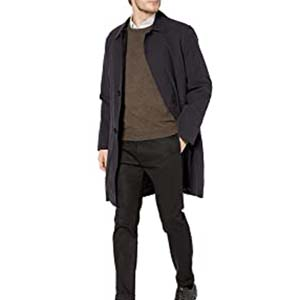 LONDON FOG L90115 Durham Rain Coat - Best Raincoats for Men: Perfect stylish design for you