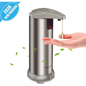LOUTAN 2020-New Version - Best Hand Sanitizer Dispenser: Nice Looking and Great Quality