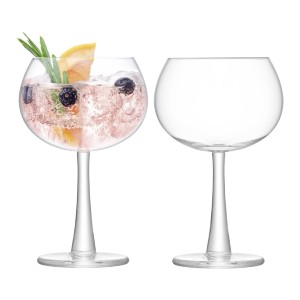 LSA International Gin Balloon Glass - Best Glass for Gin and Tonic:  Handmade in Poland