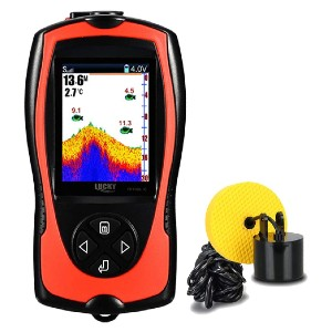 LUCKY Portable Fish Finder Handheld - Best Fish Finders Under $200: Rechargeable Handheld Fish Finder