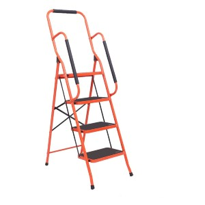 LUISLADDERS 4 Step Stool Ladder - Best Step Ladders: Great Security and Stability