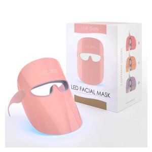 LUX SKIN LED Facial Mask - Best Light Therapy Mask for Rosacea: Wireless LED Mask