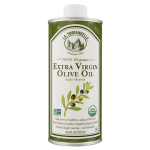 La Tourangelle Organic Extra Virgin Olive Oil - Best Olive Oil for Salad Dressing: Good for Cooking and Dressing
