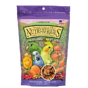 Lafeber Sunny Orchard Nutri-Berries Bird Food - Best Bird Food for Parakeets: High-Quality Ingredients