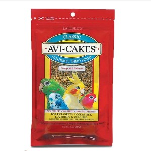 Lafeber Classic Avi-Cakes Small Bird Food - Best Bird Food for Parakeets: Small Cake Food