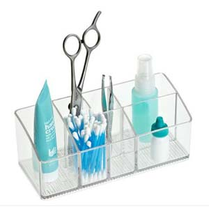 iDesign Linus Medicine Cabinet Organizer - Best Bathroom Organizer: There are no hidden items