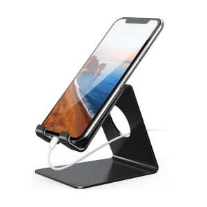 Lamicall Lamicall Cell Phone Stand - Best Phone Stands: Sturdy and Rubber Protected