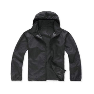 Lanbaosi Quick Dry Waterproof Skin Jacket - Best Raincoats Under $100: Simplicity is Not A Bad Thing