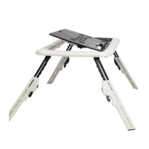 Wish Laptop Table Stand Folding Desk Bed Computer Study Adjustable Portable Sofa Tray - Best Laptop Stand for Bed: Easy for Operation, Set Up in a Few Seconds