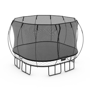 Springfree Large Square Trampoline - Best Trampoline with Net: No springs or sharp edges